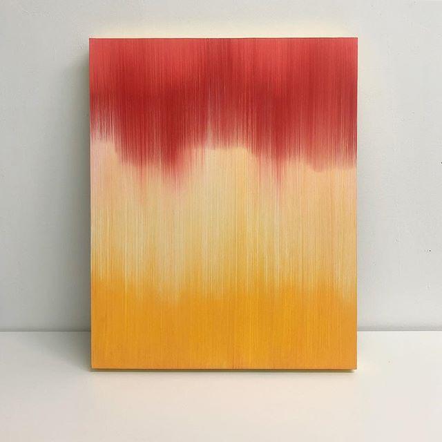 "Oil on wood panel | 16"" x 20""  #art #abstractart #abstractartist #abstractpainting #arte #abstrato #artgallery #fineart #fineartist #painting #oilpainting #oilpaintings #colorlust #oilcolor #thicianacruz #thicianacruzpainting"