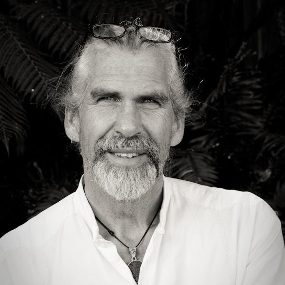 Keith Hanson, pictured outside his wildlife studio