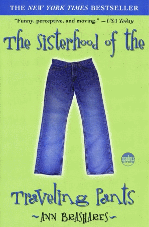 """""""I would recommend the Sisterhood of the Traveling Pants to any summer teen reader. Four best friends have varied plans and want to stick together in some way. They use one pair of pants to bring them to each other in this fast, enjoyable read. To my surprise, this book also brought a few tears to my eyes even though the majority of it is written in a lightish manner. Don't worry though, there are still some intense moments that keep the book interesting."""""""