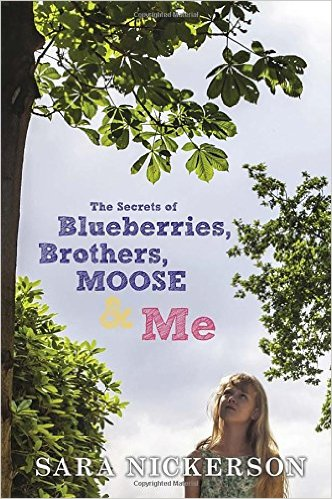 """""""The Secrets of Blueberries, Brothers, Moose and Me is the prefect, gripping summer read. The tone of the writing is light and perfect for sunny afternoons while you are kept riveted by the plot as the book evolves. It is the perfect mix of summer enjoyment pleasure reading and yet also a book that isn't just a float along a paved path. There are still some rocks waiting ahead! I would recommend Blueberries, Brothers, Moose and Me to a wide variety of ages because it is an easy enough read for middle level readers but written well to engage more advanced readers. The book follows a 12-year-old girl as she finds her way through one crazy summer that involves a marriage, the lake, sour feelings and, of course, Blueberries, Brothers, Moose and Me!"""""""