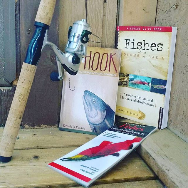 All read up and ready for #openingday of #fishing season tomorrow! Who's ready?  #methowvalley #fish #getoutside #openingweekend #pearrygin #lakepearrygin #winthropwa