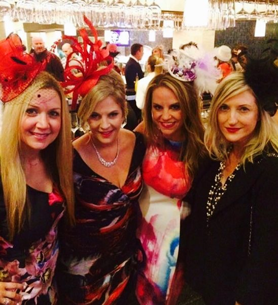 From left, Kelly Iastra, Elaine Sweeney, Nichole Hubbard and Wendy Garraty at the Mad Hatter Tea and Brunch.