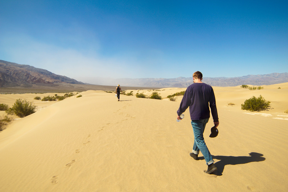 Journey back across the Dunes