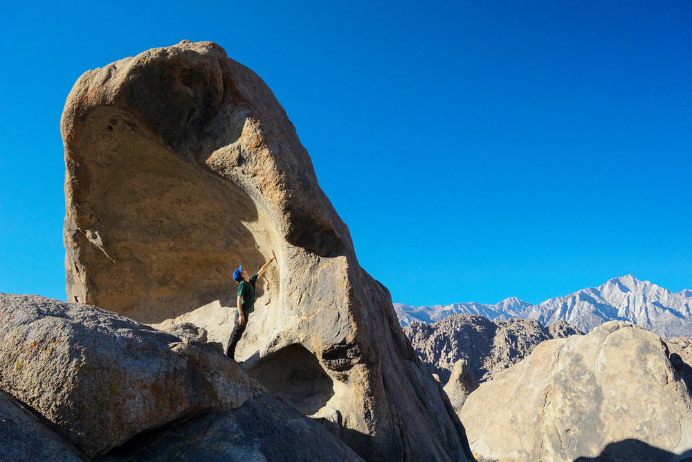 Woke up in Alabama Hills; a time capsule of the Wild West.