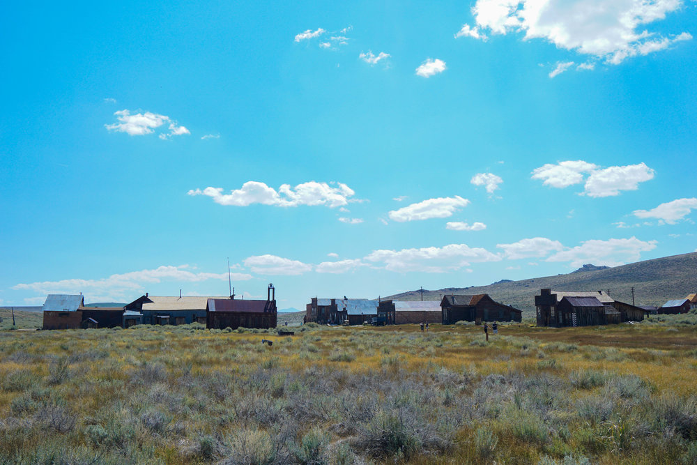 Bodie was a town known for bad men & violence. It had more saloons than churches, & more murders than births.