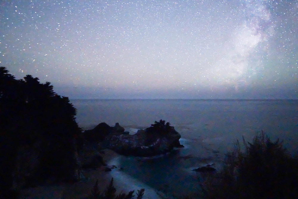 After a garbage truck overturned, cow ventured into the road, 10 hours of driving on our side & 13 hours on Dylan's we finally reach the iconic McWay Falls.