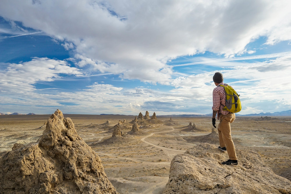 The spires create the perfect spacey scene for a Cosmonaut. Over 500 pinnacles are scattered throughout this landscape.
