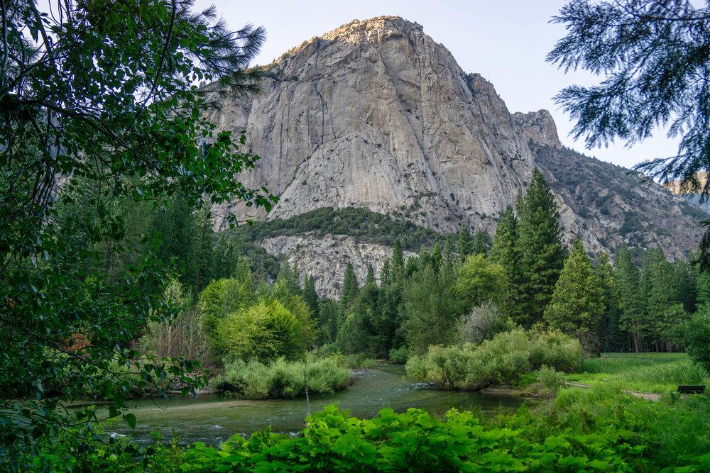 Granite Domes + Pine Trees + Winding Rivers = Classic Sierra Nevada views