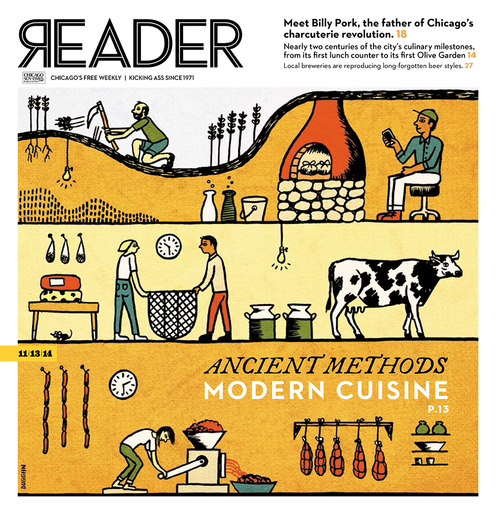 The Reader's Food Issue 2014