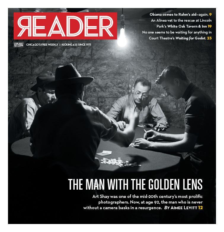 The Reader's feature on photographer Art Shay 2015