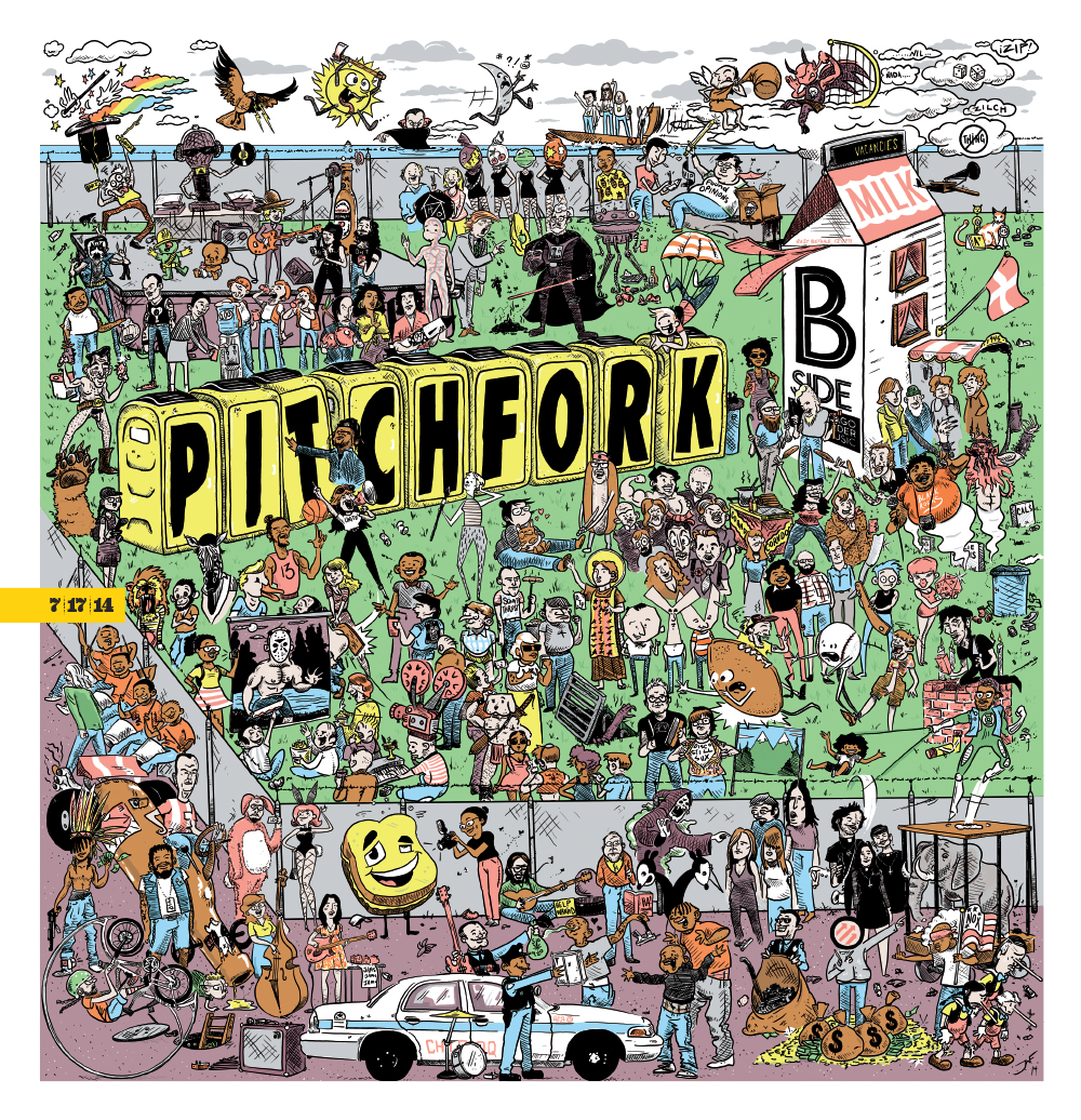 The Reader's Pitchfork coverage 2014