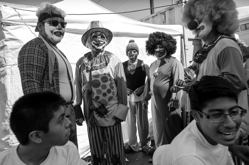 Familia Zapoteca members:Antonio Mazas, Eulogio Ríos, Daniel Ríos, Bernardo Velasco and Eloy Juárez.
