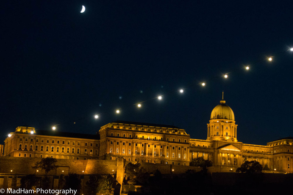 Night Lights in Budapest
