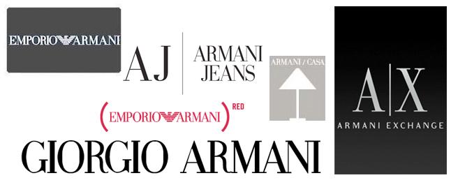 armani brands
