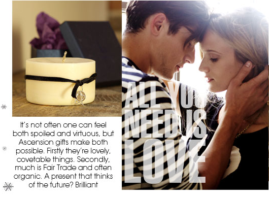 Love is the modern luxury (& it's ethical!): Ascension