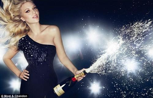 Scarlett Johansson for Moet ad