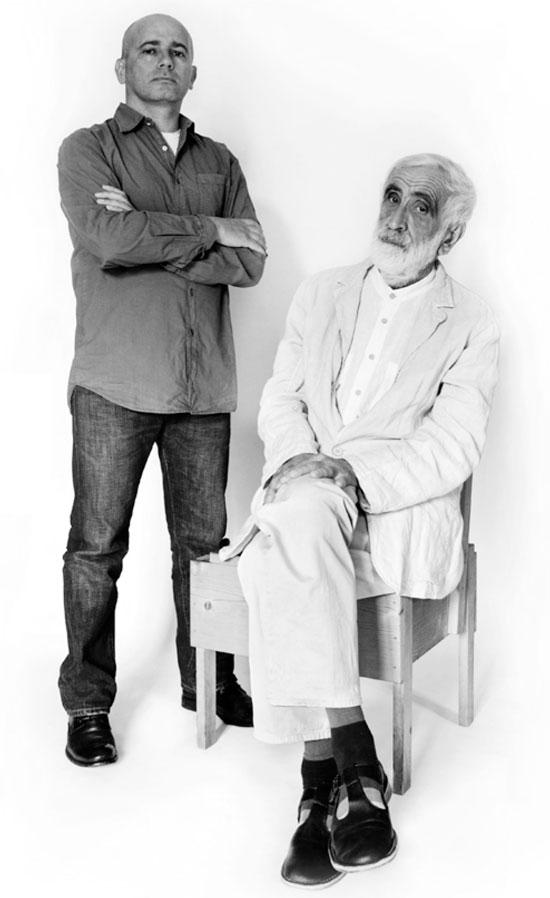 Gabriele Pezzini and Enzo Mari