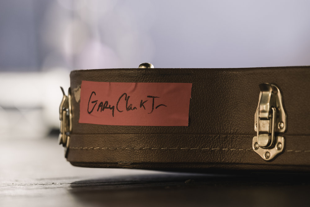 Gary Clark Jr Guitar Case