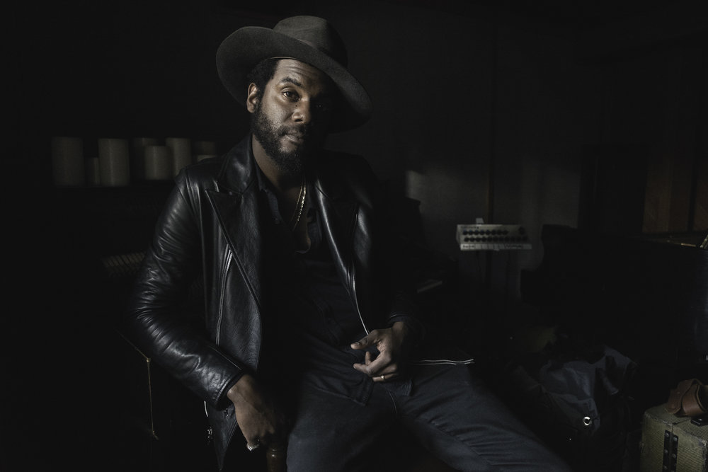 Gary Clark Jr in studio 2