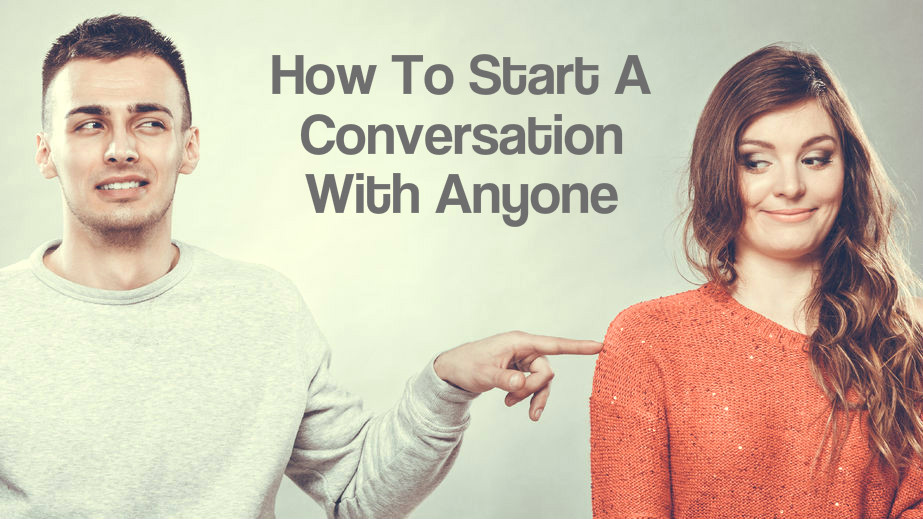 How to start a conversation online dating with a guy