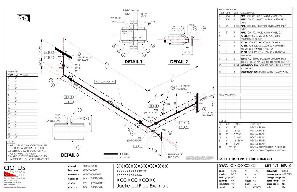 fabrication isometrics  u2014 aptus design llc