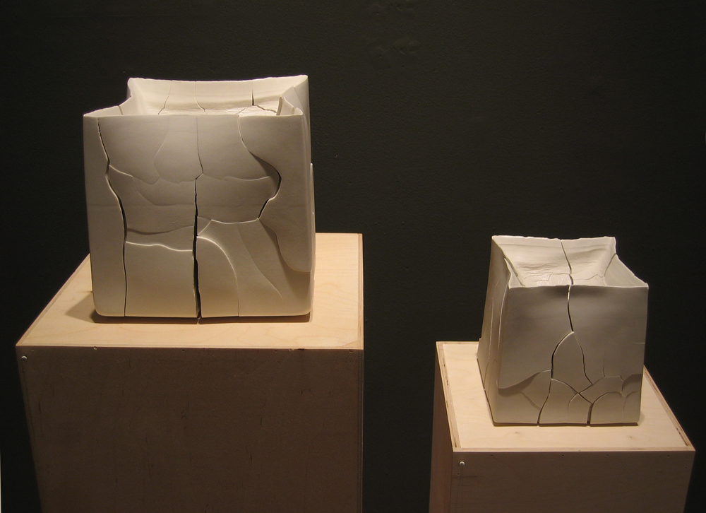 solid-cast porcelain