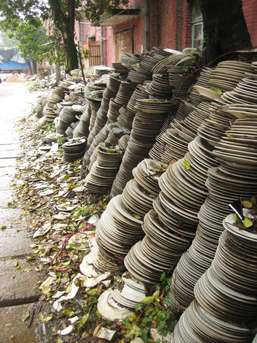 Flawed Plates, Jingdezhen, China