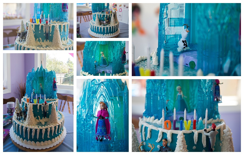 Frozen Themed Birthday Cake!! This was totally awesome! :)