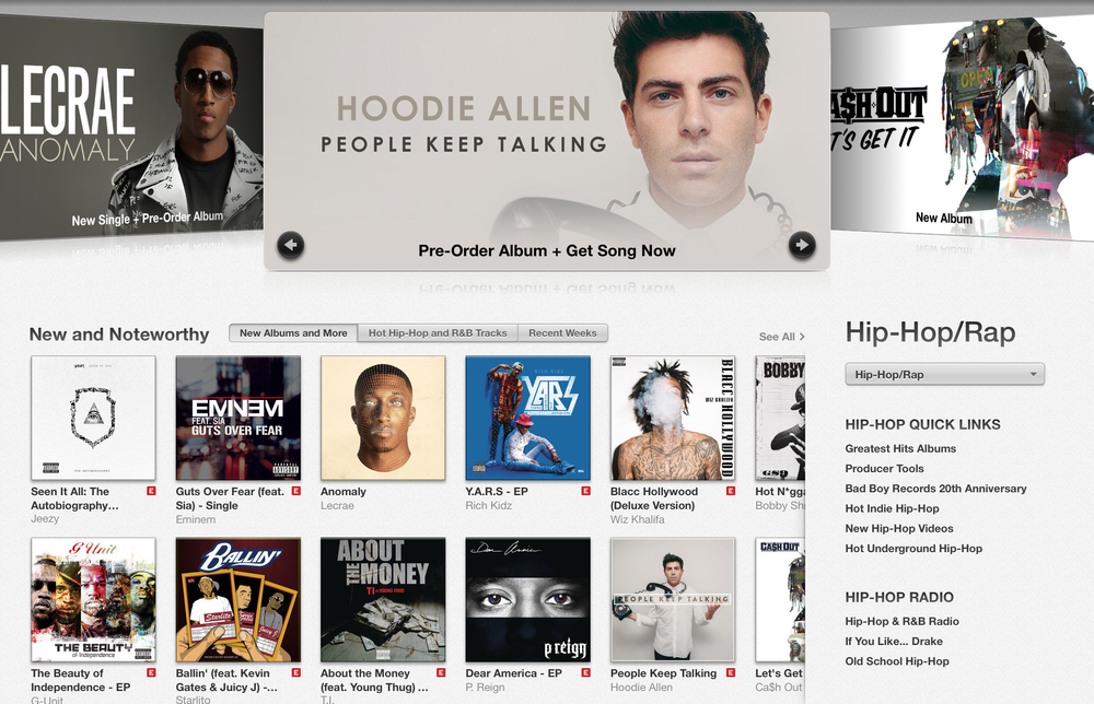 Hoodie Allen - People Keep Talking on iTunes 2014