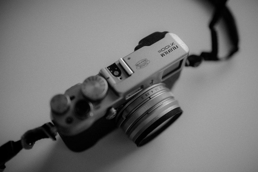 My trusty Fuji X100S