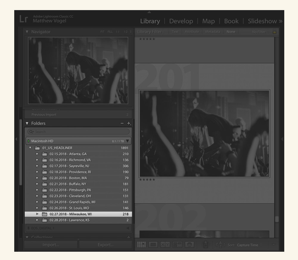 Lightroom — Folders