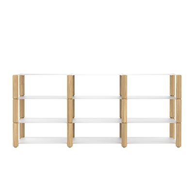 HEAVYSTOCK Shelf System White