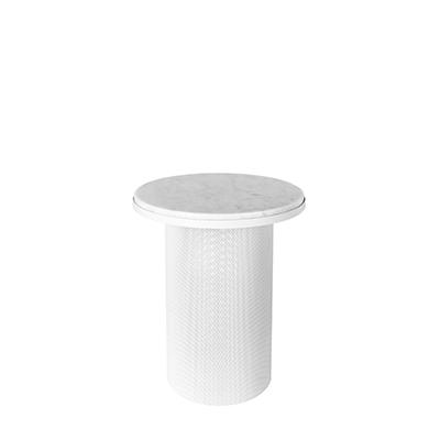PEDESTAL White Marble