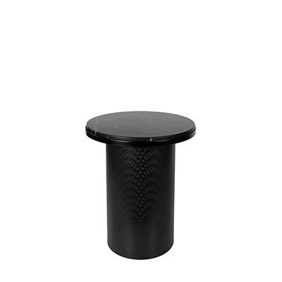 PEDESTAL Black Marble