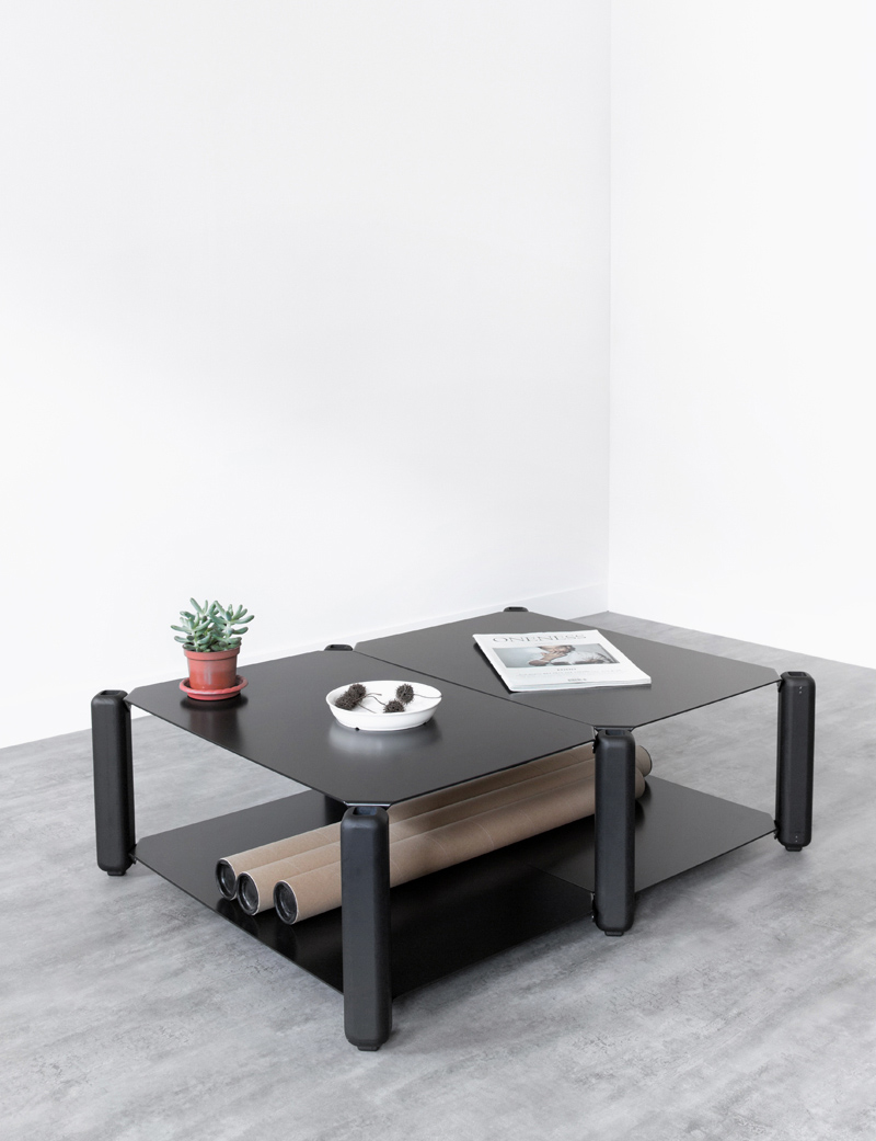 HEAVYSTOCK Low Table by Knauf & Brown