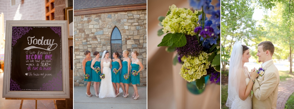 Bryan and Kaitlin's beautiful church wedding! [Summer 2014]