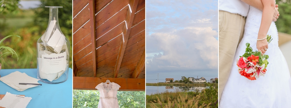 Andrew and Kara's Chesapeake Beach Waterfront Wedding [Summer 2014]