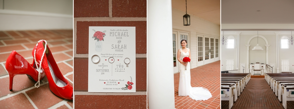 Michael and Sarah's church wedding in Lancaster, PA [Summer 2014]