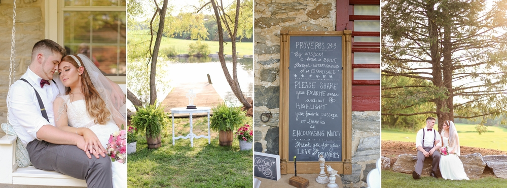 Gina & Graysons farm wedding at The Farm at Eagles Ridge [Summer 2014]