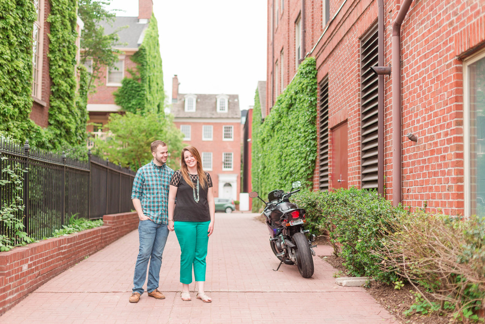 Raenne and James` Engagement in Baltimore! [Spring 2015]