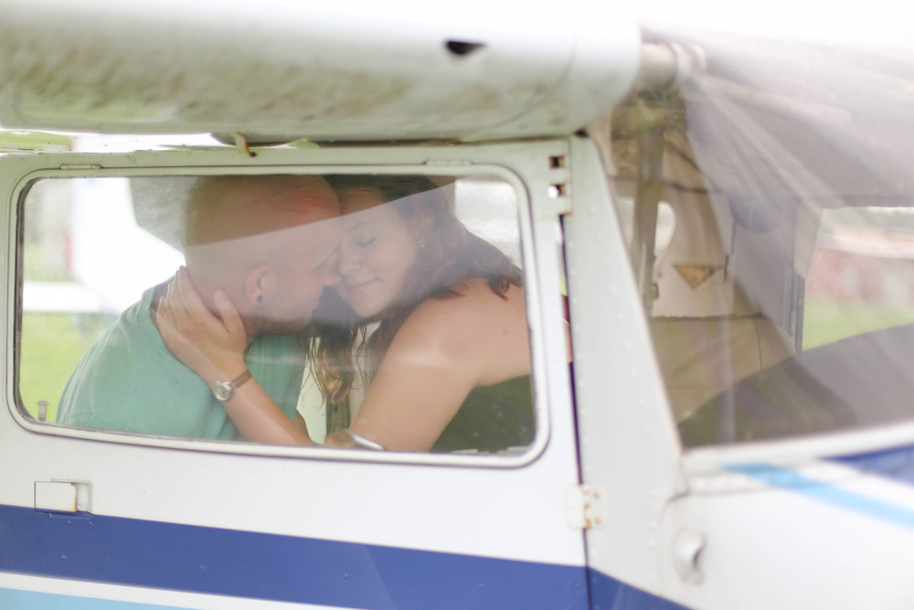 Davi and Brandon's Anniversary shoot at Lee Airport [Summer 2015]
