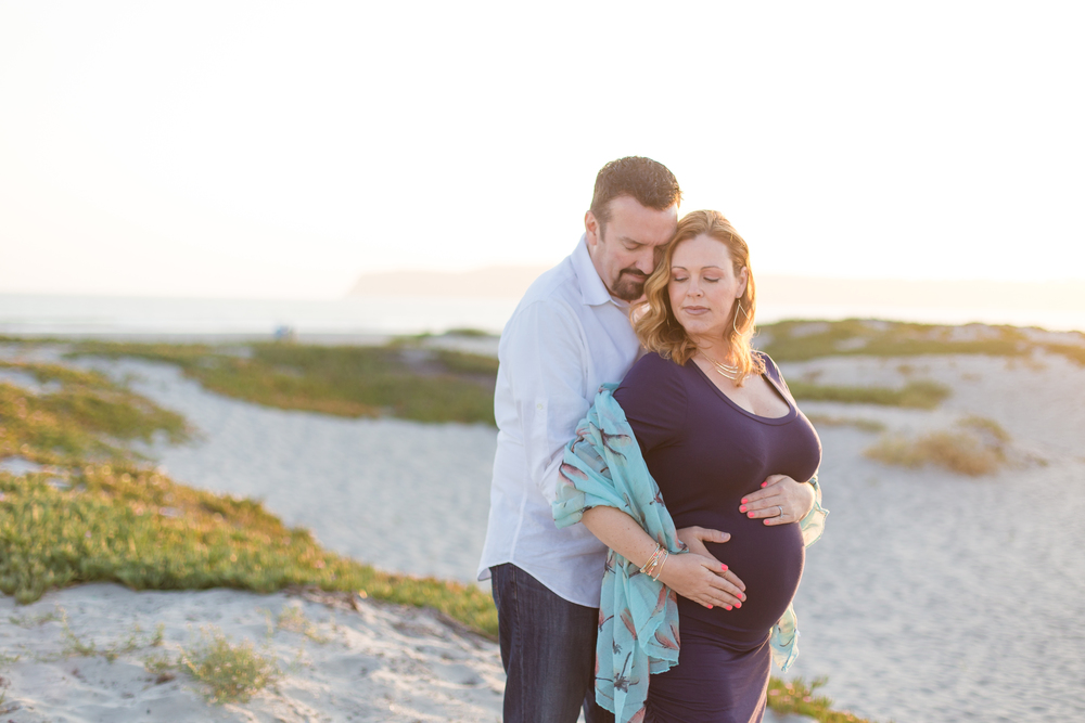 Coronado Beach Maternity Session