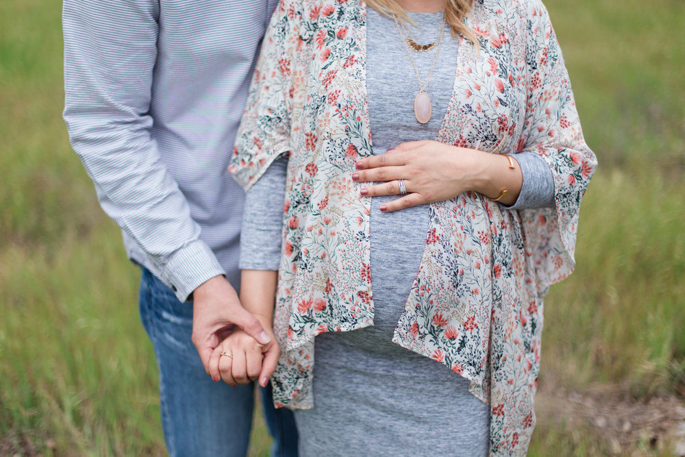 Marian Bear Memorial Park Maternity Session | Winter 2016