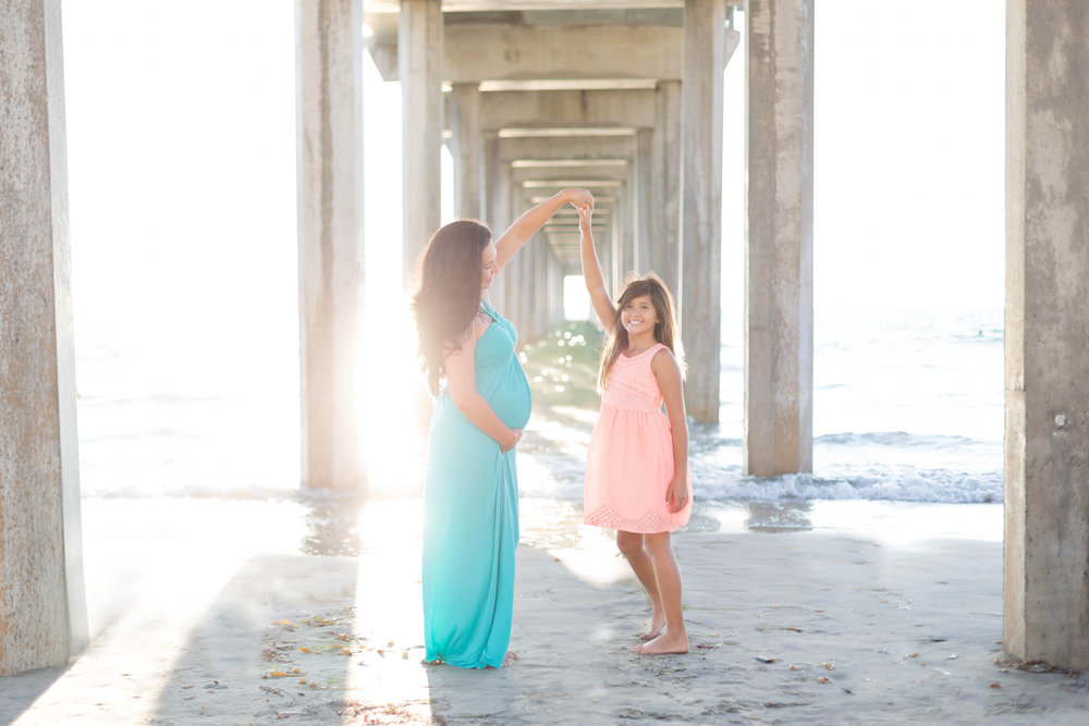 Scripps Pier Maternity Session | Fall 2015