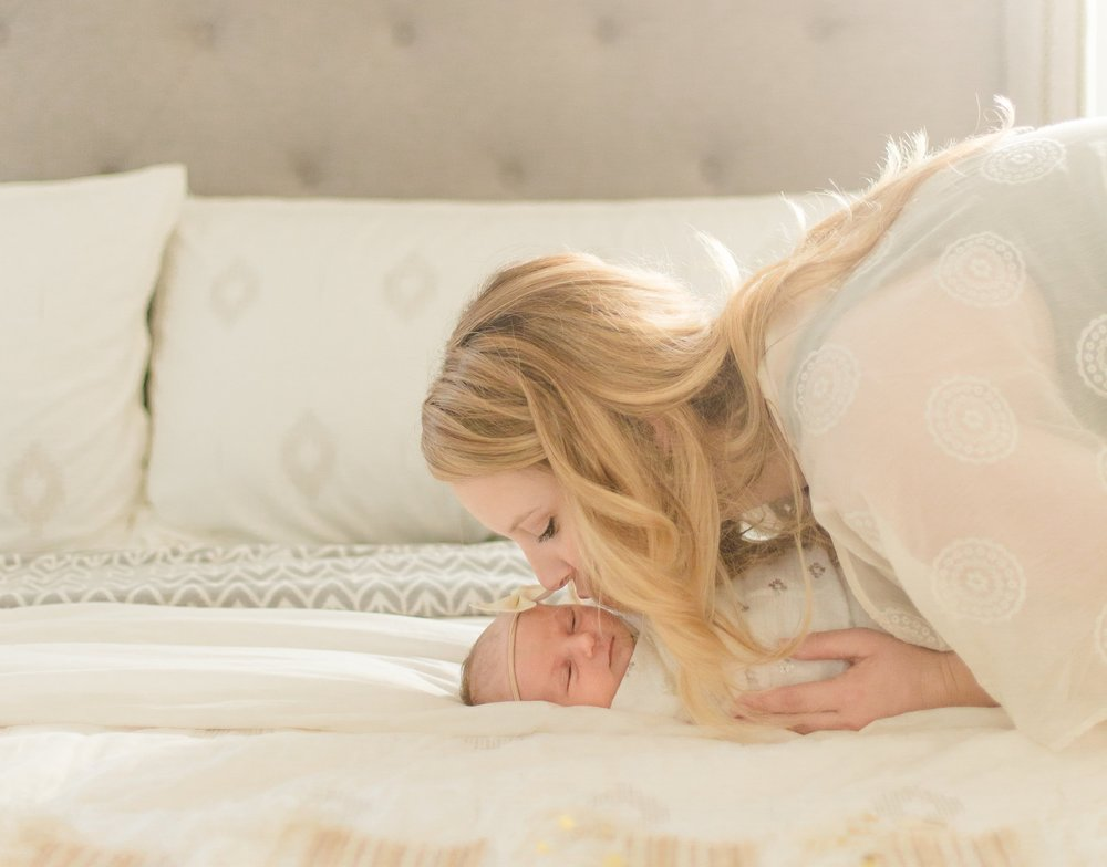 San Diego Newborn Lifestyle Photos