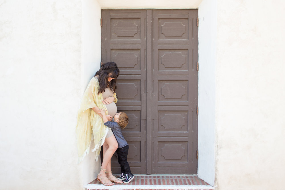 San Diego Mission Maternity Session | Winter 2016