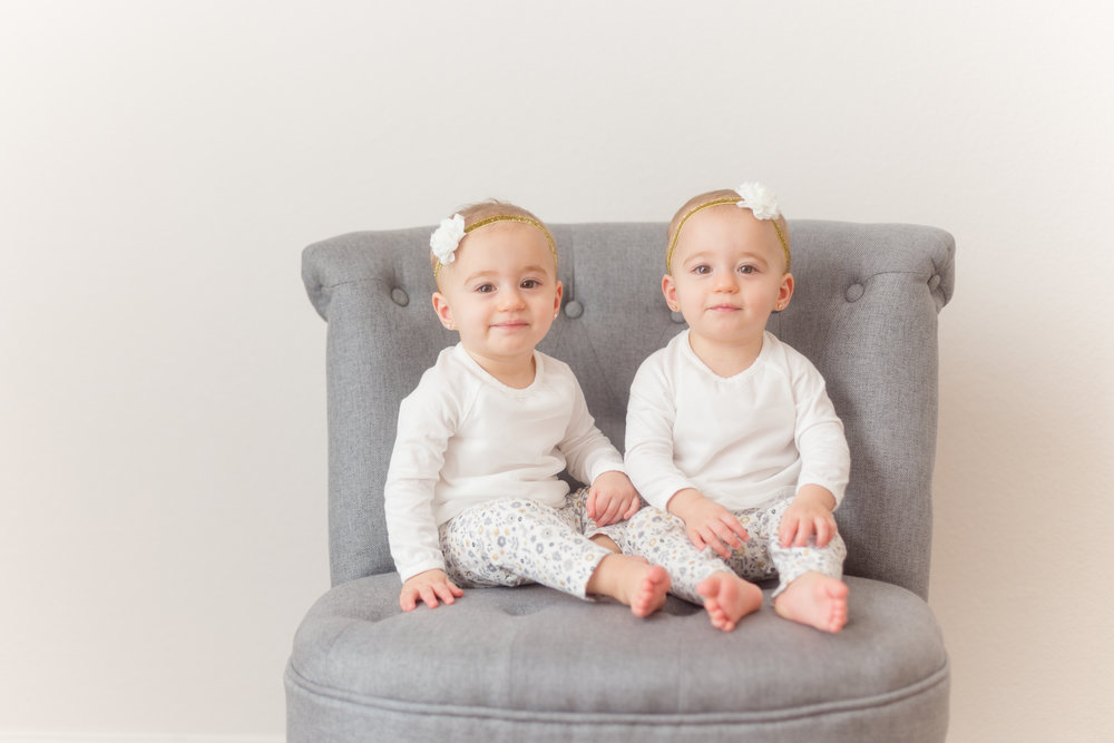 Harlow & Monroe Studio | Identical Twins Turn ONE