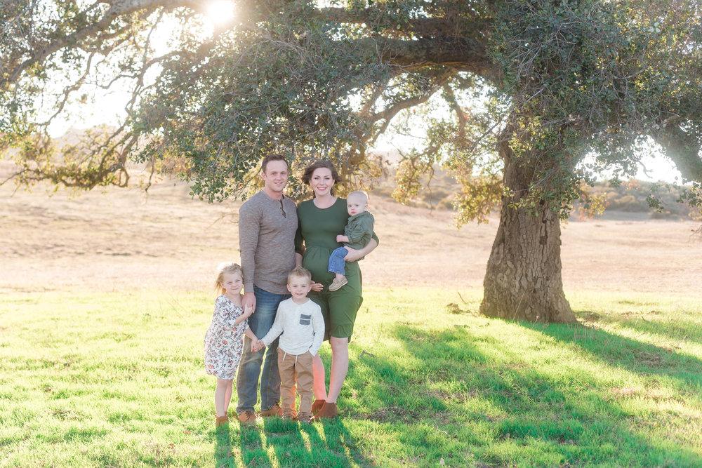 Ramona Grassland Preserve Family Photos | Chesnut Family