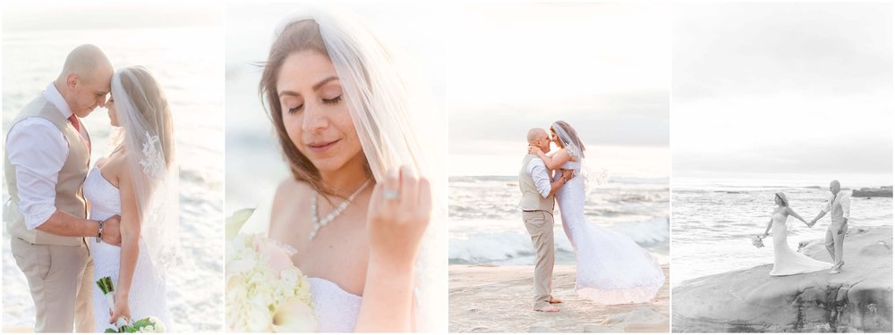 Sandra & Rigo Beach Elopment | Windansea Beach