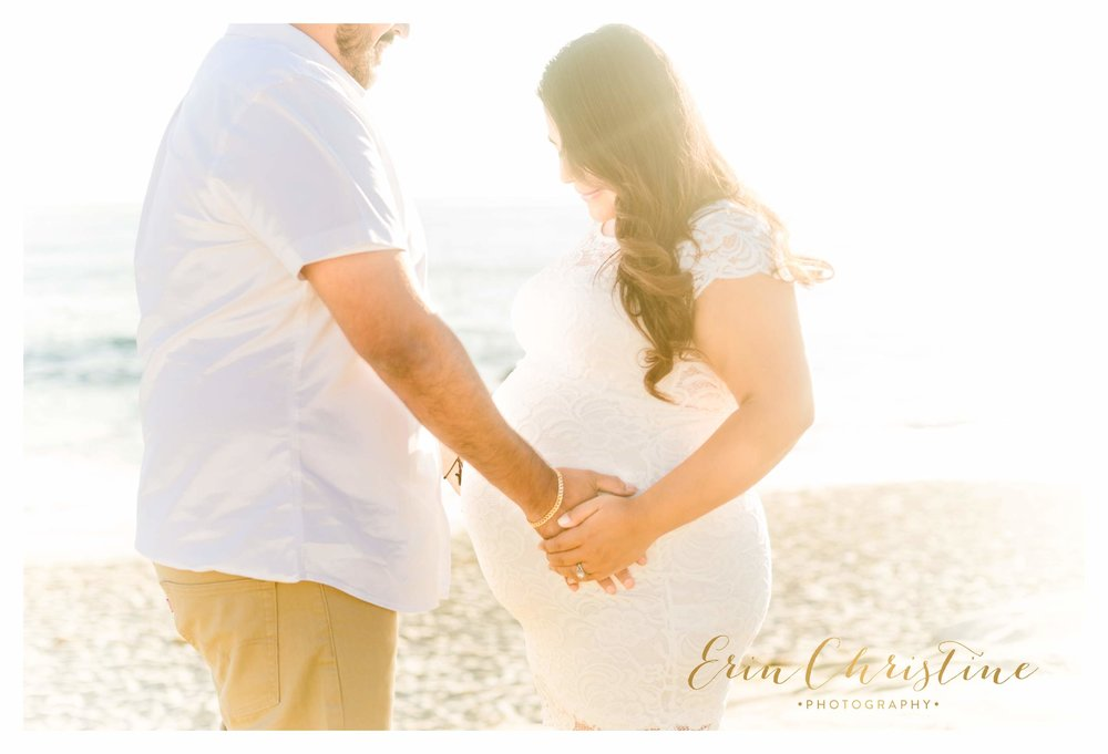 Windansea Beach Maternity Photo Session